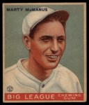 1933 Goudey #48  Marty McManus  Front Thumbnail