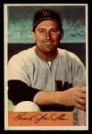 1954 Bowman #104  Frank Shea  Front Thumbnail
