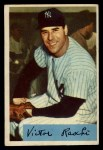 1954 Bowman #33 xTR Vic Raschi  Front Thumbnail