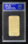 1911 T205  Al Mattern  Back Thumbnail