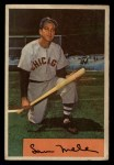 1954 Bowman #22 OF Sam Mele  Front Thumbnail