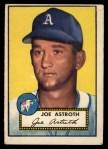 1952 Topps #290  Joe Astroth  Front Thumbnail
