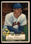 1952 Topps #32 BLK Eddie Robinson  Front Thumbnail