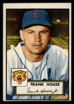 1952 Topps #146 CRM Frank House  Front Thumbnail