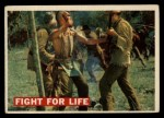 1956 Topps Davy Crockett #18 ORG  Fight For Life  Front Thumbnail