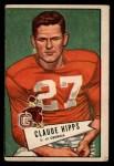 1952 Bowman Large #41  Claude Hipps  Front Thumbnail