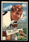 1952 Bowman Large #86  Dub Jones  Front Thumbnail