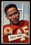1952 Bowman Large #39  Emlen Tunnel  Front Thumbnail