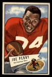 1952 Bowman Large #83  Joe Perry  Front Thumbnail