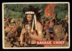 1956 Topps Davy Crockett #21 ORG  Savage Chief  Front Thumbnail