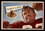 1952 Bowman Large #5  Frankie Albert  Front Thumbnail