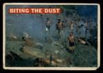 1956 Topps Davy Crockett #15 ORG  Biting the Dust  Front Thumbnail