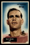 1955 Bowman #81  Billy Wilson  Front Thumbnail