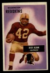 1955 Bowman #12  Dick Alban  Front Thumbnail