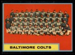 1962 Topps #12   Colts Team Front Thumbnail