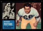 1962 Topps #136  Myron Pottios  Front Thumbnail