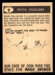 1959 Topps #9   Steelers Pennant Back Thumbnail