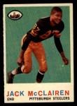 1959 Topps #157  Jack McClairen  Front Thumbnail