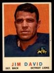 1959 Topps #143  Jim David  Front Thumbnail