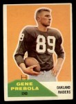 1960 Fleer #61  Gene Prebola  Front Thumbnail