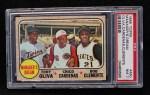 1968 Topps #480   -  Tony Oliva / Leo 'Chico' Cardenas / Roberto Bob Clemente Manager's Dream Front Thumbnail