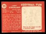 1958 Topps #99  Larry Strickland  Back Thumbnail