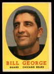 1958 Topps #119  Bill George  Front Thumbnail