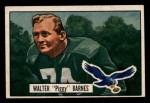 1951 Bowman #48  Walter Barnes  Front Thumbnail