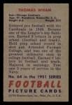 1951 Bowman #64  Thomas Wham  Back Thumbnail