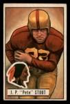 1951 Bowman #70  Pete Stout  Front Thumbnail
