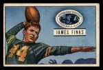 1951 Bowman #130  James Finks  Front Thumbnail
