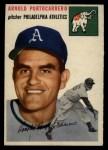 1954 Topps #214  Arnie Portocarrero  Front Thumbnail