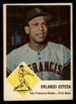 1963 Fleer #64  Orlando Cepeda  Front Thumbnail