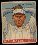 1933 Goudey #73  Jesse Haines  Front Thumbnail