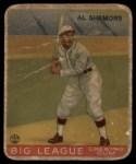 1933 Goudey #35  Al Simmons  Front Thumbnail