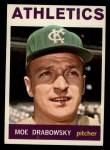 1964 Topps #42  Moe Drabowsky  Front Thumbnail