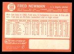 1964 Topps #569  Fred Newman  Back Thumbnail