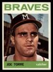 1964 Topps #70  Joe Torre  Front Thumbnail