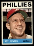 1964 Topps #43  Roy Sievers  Front Thumbnail