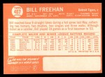 1964 Topps #407  Bill Freehan  Back Thumbnail