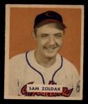 1949 Bowman #78 NAM Sam Zoldak  Front Thumbnail