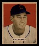 1949 Bowman #191  Joe Haynes  Front Thumbnail