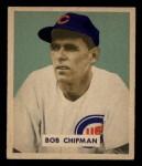 1949 Bowman #184  Bob Chipman  Front Thumbnail