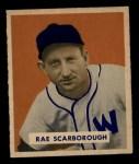 1949 Bowman #140  Rae Scarborough  Front Thumbnail
