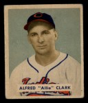 1949 Bowman #150  Alfred Clark  Front Thumbnail
