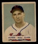 1949 Bowman #150  Alfred Clark  Front Thumbnail