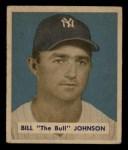 1949 Bowman #129  Billy Johnson  Front Thumbnail