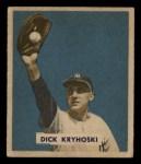 1949 Bowman #218  Dick Kryhoski  Front Thumbnail