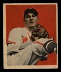 1949 Bowman #33  Warren Spahn  Front Thumbnail