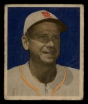 1949 Bowman #4 NNOF Jerry Priddy  Front Thumbnail